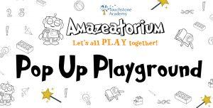 pop up playground flyer